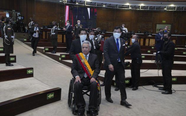 """""""Este será el último año de mi gobierno, pero debemos convertirlo en el primer año del nuevo Ecuador"""", destacó Moreno."""