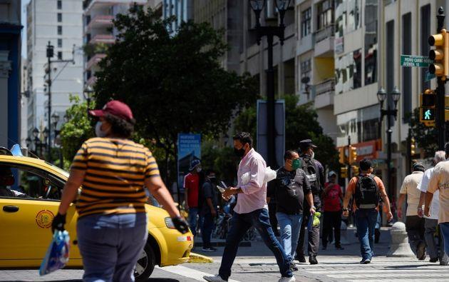Guayaquil, catalogado como el epicentro del coronavirus en el país, se encuentra en color amarillo hace una semana. Foto: Reuters