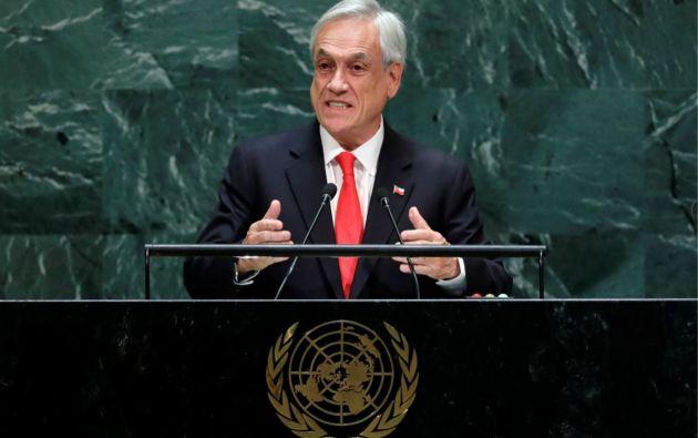 Presidente de Chile, Sebastián Piñera. Foto: Reuters.
