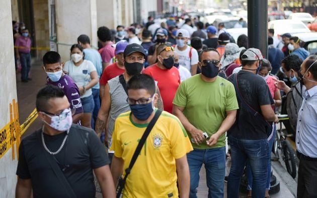 Guayas, la más castigada por el COVID-19, acumula la mayor cantidad de infractores. Foto: Reuters