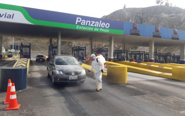 La reapertura por el cobro se condiciona con el seguimiento de un estricto protocolo de bioseguridad, emitido por el Ministerio de Transporte y Obras Públicas, que fue socializado con las concesionarias viales.