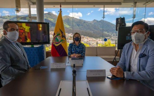 La ministra de Turismo, Rosi Prado de Holguín, explicó que la estrategia se enfocará en tres ejes para dinamizar el sector: la reactivación de destinos, elaboración de protocolos de bioseguridad y el acceso a financiamiento.