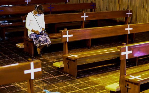 Guayas sigue liderando la lista al registrar 13.928 contagiados y 1.397 fallecidos.Foto: EFE