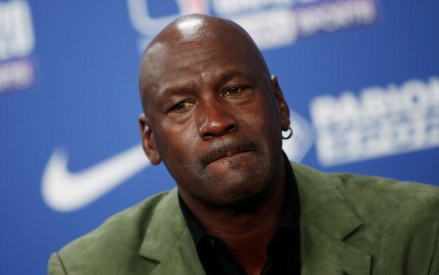 """""""Estoy con los que claman contra el racismo"""" escribió Michael Jordan en sus redes sociales."""