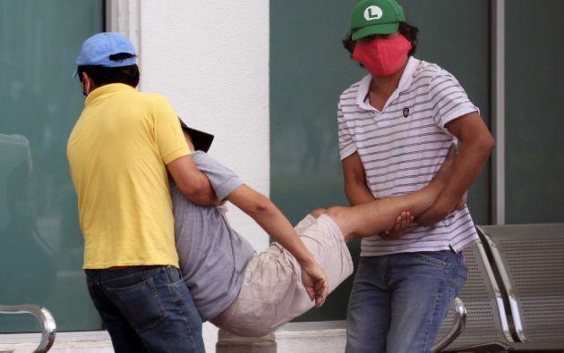 La rápida expansión de casos en el país generó incertidumbre sobre el paradero final de los cuerpos.  Foto: AFP