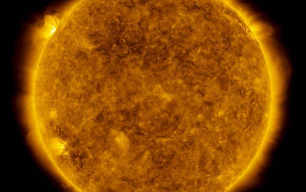 NASA advirtió de una erupción en el Sol, la más grande desde octubre de 2017. Foto: NASA.