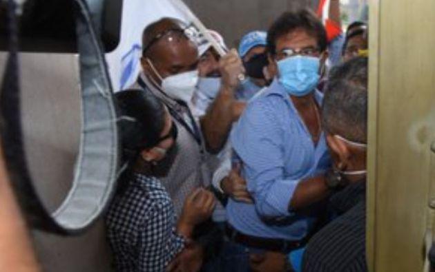 """""""Que los procesos sigan su marcha ya que nosotros también lo haremos"""", dijo Morales."""