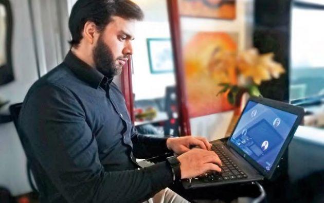 VENTAJA. La modalidad online ofrece flexibilidad de horario para atender las labores diarias.