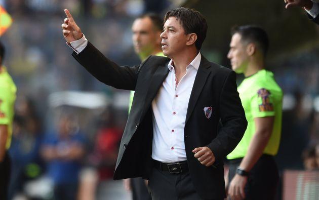Marcelo Gallardo dirige a River Plate desde hace seis años. Hoy es el técnico más ganador de la historia del club, con 12 trofeos, y su calidad de juego está considerado como los mejores de toda la historia.