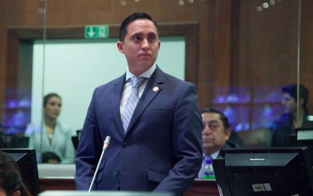 Mendoza mantiene una medida cautelar de prisión preventiva. Foto: Asamblea Nacional.