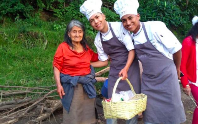 El proyecto de Banco de Alimentos fue creado por estudiantes de Gastronomía de UIDE.
