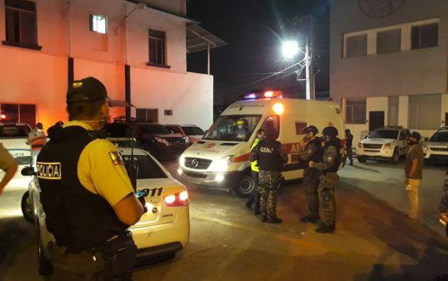 """""""Se encuentran ya en Guayaquil y la Policía de Ecuador los pondrá enseguida a órdenes de la justicia"""", indicó Romo."""