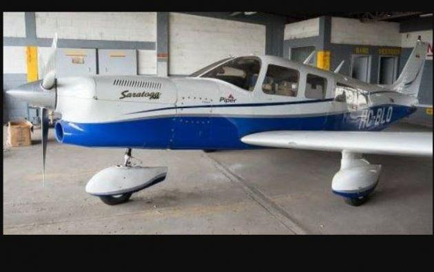 La avioneta accidentada el pasado lunes en Perú, frontera con Ecuador, pertenece al empresario ecuatoriano Alfredo Adum.