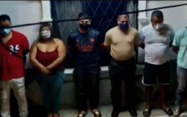 La banda estaba liderada por un colombiano, que también está detenido.
