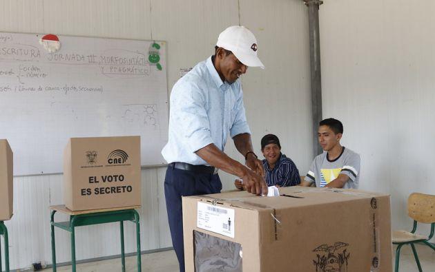 Varias organizaciones políticas proponen que las votaciones se realicen en marzo y no el 7 de febrero. Foto: Flickr CNE.