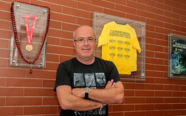 Jorge Célico, entrenador de las tricolores juveniles.