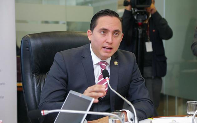 El asambleísta Daniel Mendoza se encuentra en prisión preventiva por delincuencia organizada.