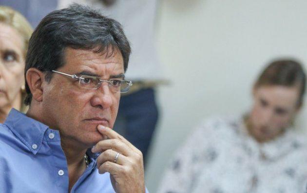 Morales es investigado por tráfico de influencias en la contratación de insumos médicos.