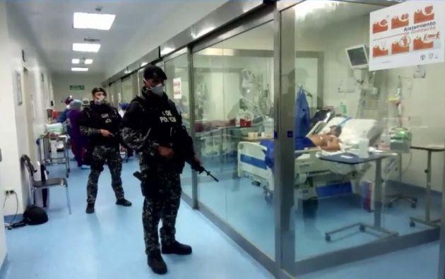 La acción de hábeas corpus es contra Hector Reyna Vivar, Director del Centro de Privacion de Libertad, y de Pablo Gonzalez, Gerente Hospitalario Subrogante del Hospital Guayaquil.