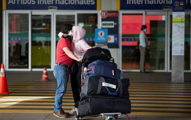 También LATAM ha reanudado los vuelos domésticos en Ecuador tras 90 días de restricción como consecuencia de la pandemia de COVID-19. Foto: EFE