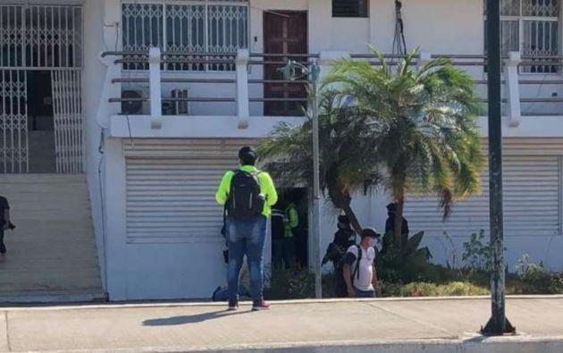 La operación estaría vinculada a la investigación en contra del asambleísta manabita Daniel Mendoza.