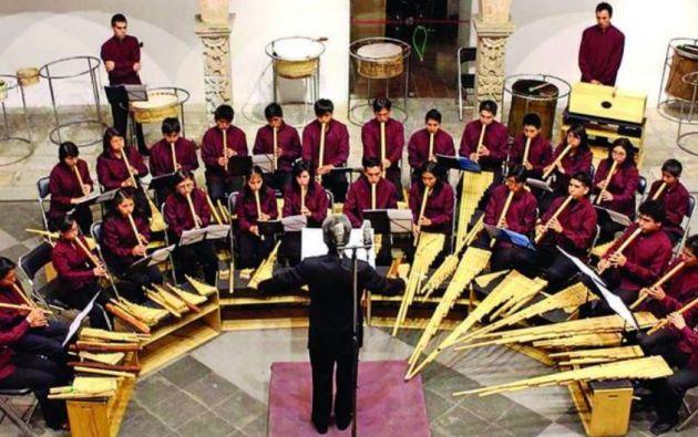 Orquesta Experimental de Instrumentos Nativos (OEIN). Foto: Facebook.