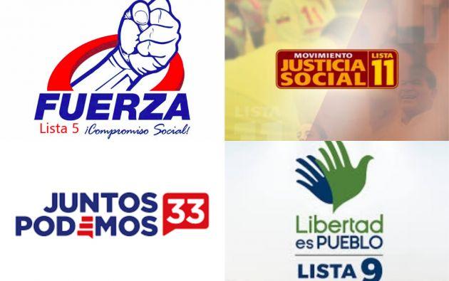 """""""Justicia Social"""", """"Podemos"""", """"Liberad es Pueblo"""" y """"Fuerza Compromiso Social"""" presentaron irregularidades en sus registros."""
