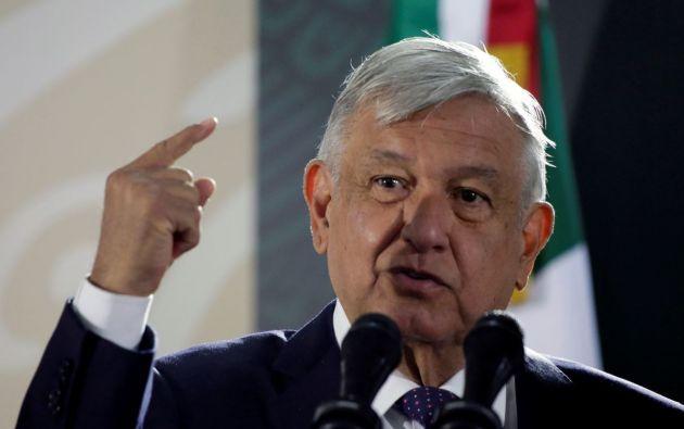 Presidente de México, Andrés Manuel López Obrador. Foto: Reuters.