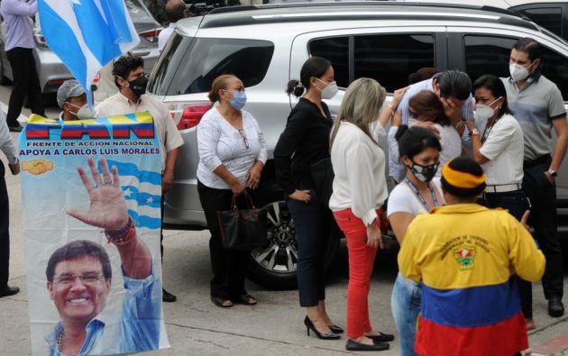 Proceso penal en contra de Carlos Luis Morales se extingue. Foto: AFP