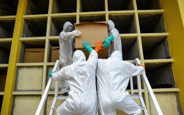 En Ecuador hay más de 53.000 casos de contagio de coronavirus, este jueves 25 de junio aumentaron 800 nuevos casos. Foto: EFE.