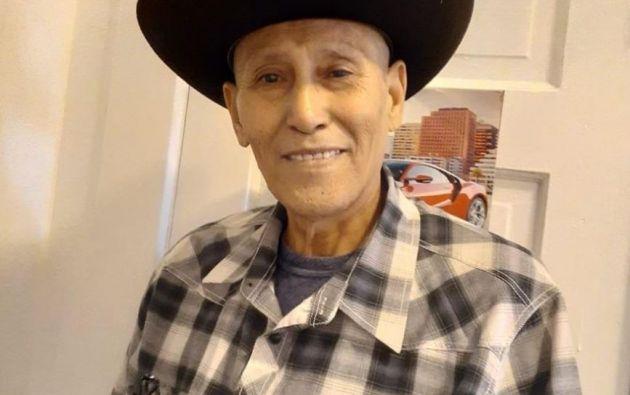 Fotografía cedida por la familia Garay García donde aparece su patriarca el mexicano Vidal Garay García, de 60 años, quien falleció el sábado por coronavirus. Foto: EFE.