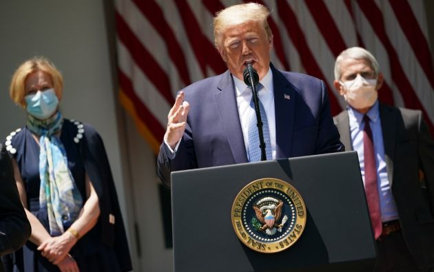 """La acusación contra 36 individuos, incluido Trump, es de """"asesinato"""" y """"acto terrorista"""". Foto: AFP"""
