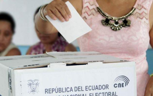 """El Tribunal Contencioso Electoral notificó al CNE que cualquier modificación al calendario """"es inviable""""."""