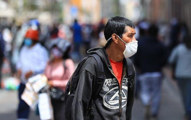 Ecuador se encuentra en un proceso paulatino de desescalada para pasar del aislamiento al distanciamiento social. Foto: EFE