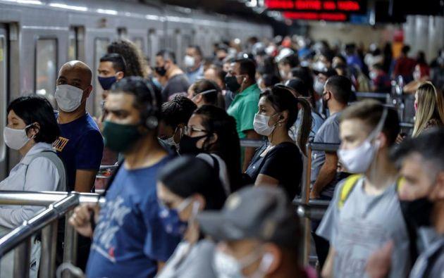 América registra unos 6 millones de contagios, más del 50 % de ellos en Latinoamérica. Foto: EFE