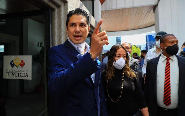 Balda se presentó como alternativa que busca unir a descontentos con la política ecuatoriana. Foto: EFE