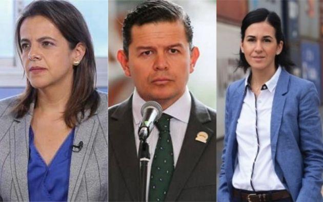 Fue presentada la terna para elegir al cuarto vicepresidente del gobierno de Lenín Moreno.