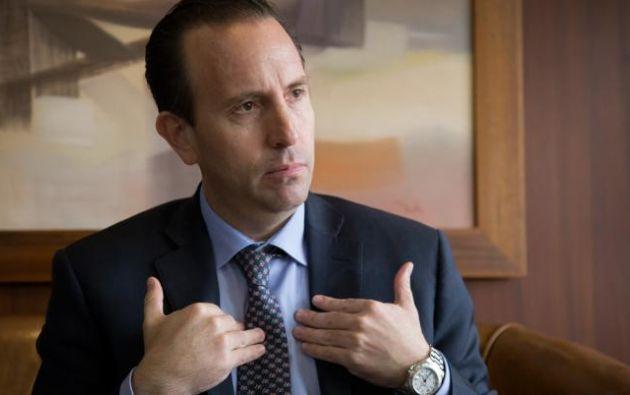 """Alarcón insiste en volver a reactivar la economía: """"no podemos seguir, las consecuencias económicas pueden ser muy graves""""."""