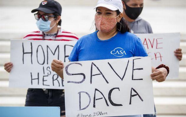 """El grupo, que incluye a la Cámara de Comercio de EE.UU. y varios gremios empresariales de variados sectores, aseguran que los beneficiarios de DACA son """"miembros críticos"""" de la fuerza laboral y sociedad. Foto: EFE."""