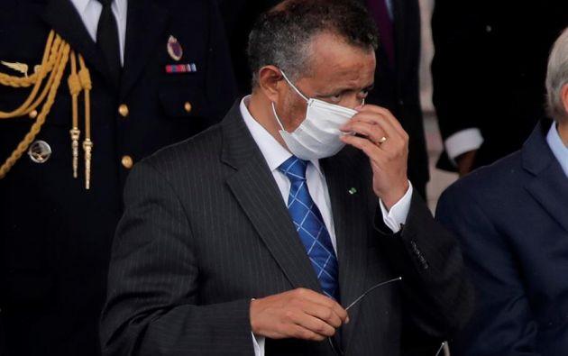 Director general de la OMS, Tedros Adhanom Ghebreyesus. Foto: EFE