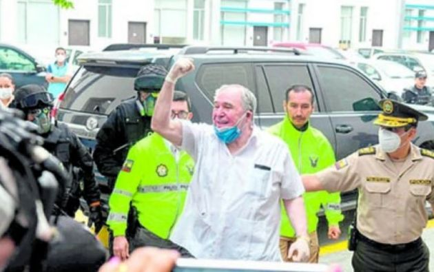 Bucaram habló sobre su relación con los sospechosos y aseguró conocer a Salcedo.