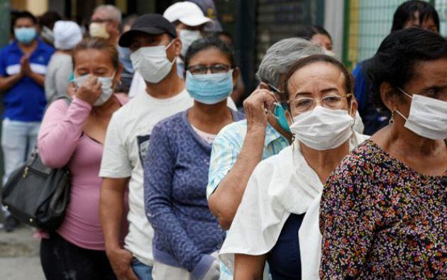 En junio el incremento de infectados por COVID-19 en Guayaquil fue de apenas 2%.