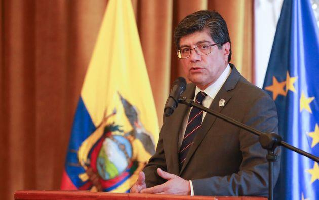 José Valencia renunció a la Cancillería el 8 de julio. Foto: Flickr Cancillería.