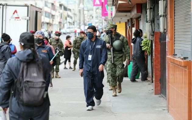 Pichincha es la que registró mayor número de nuevos casos en las últimas 24 horas. Foto: EFE