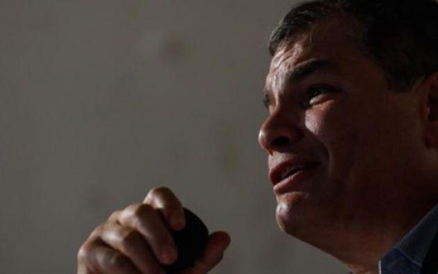 Correa ha indicado que le gustaría postular a la Vicepresidencia de la República. Foto: EFE