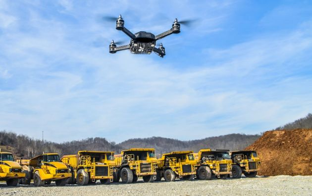 Los drones están siendo utilizados para inspecciones visuales y topográficas.