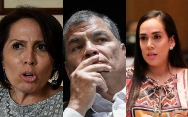 María de los Ángeles Duarte, Rafael Correa y Viviana Bonilla fueron sentenciados por cohecho.