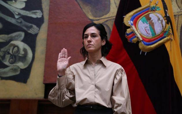 """""""Estos 10 meses mi coherencia estará al servicio del país para sembrar confianza y paz"""", dijo Muñoz."""