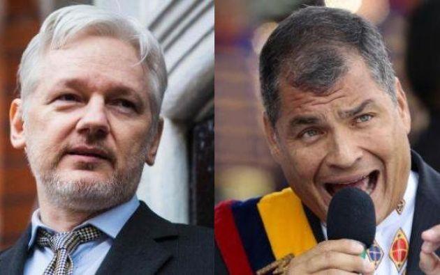 """Se denuncian """"seguimientos y fotografías de encuentros entre Correa y el abogado coordinador de la defensa de Assange""""."""