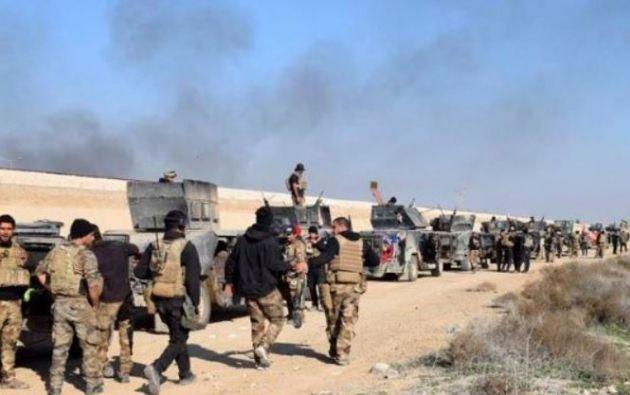 Base militar iraquí. Foto: EFE.